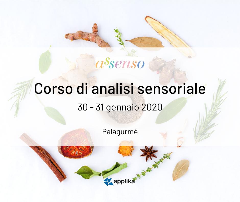 Corso di analisi sensoriale_30-31gennaio2020