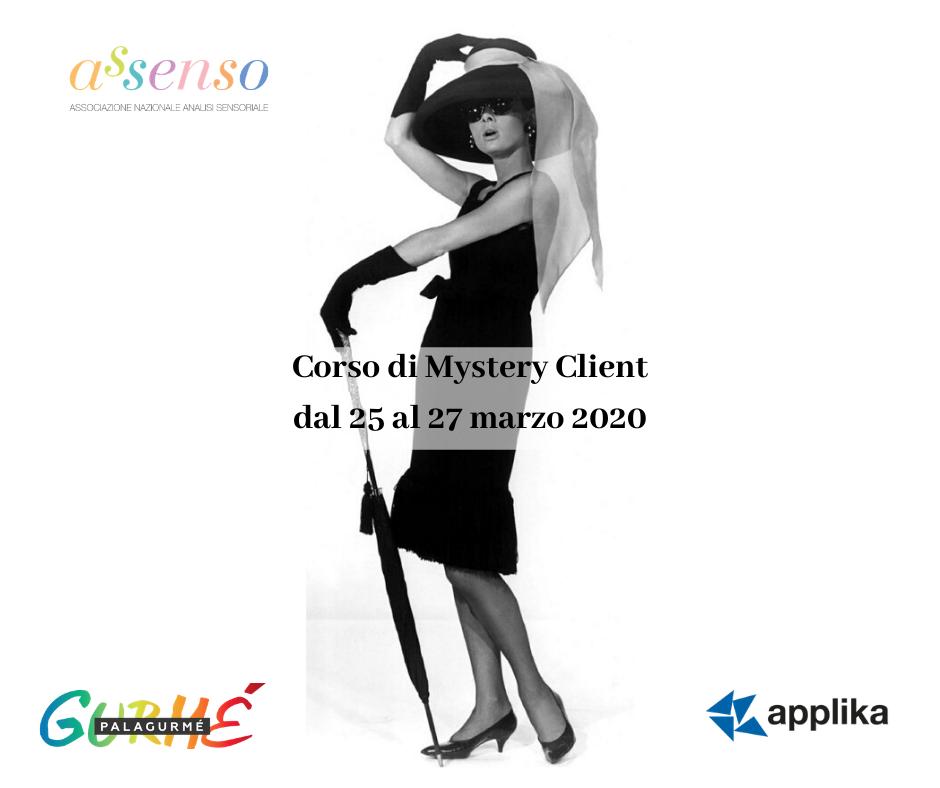 Corso di Mystery Client dal 25 al 27 marzo 2020