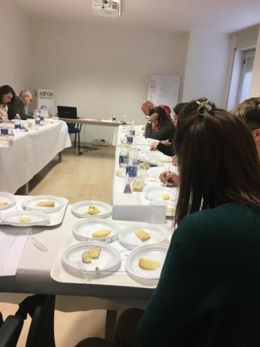 Panel analisi sensoriale formaggi di pecora